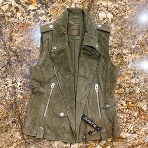 Blank NYC Suede Vest